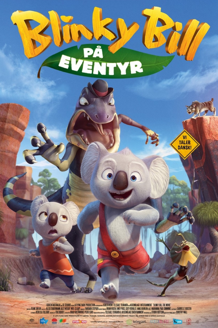 Blinky Bill på eventyr